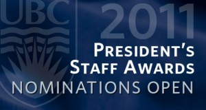 President's Staff Awards: Nominations Open
