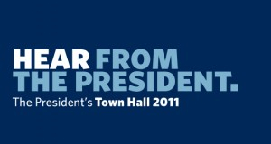 About the President's Town Hall