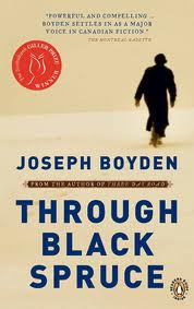Joseph Boyden, Through Black Spruce (Penguin Canada, 2008)