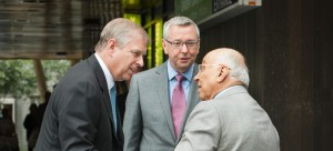 HRH The Duke of York visits UBC