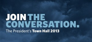 Join the Conversation – Town Hall 2013