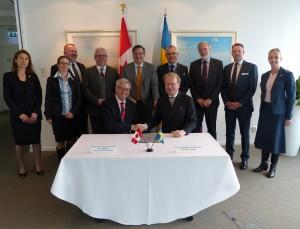 UBC signs MOU with Karolinska Institutet, Stockholm