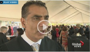 Global News: UBC's new president sets high goals in installation ceremony (video)