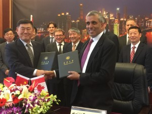 Pictures: UBC President's Delegation to China