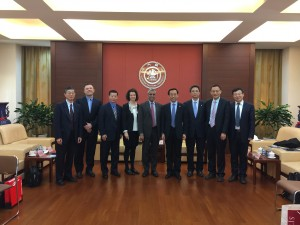 Signing an MOU with Shanghai Jiao Tong University
