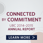 Connected by Commitment 2014-2015 Annual Report