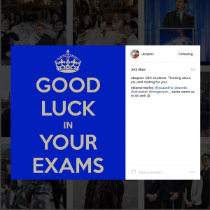 Exam anxiety? UBC can help