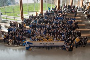 The Blue & Gold campaign: Change their world so they can change ours