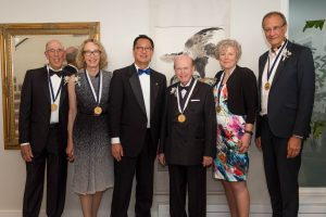 "The President's Medal of Excellence: ""A significant contribution to the purposes and ideals of the university"""
