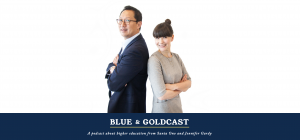 Listen Up, it's the Blue & Goldcast!