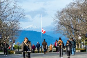 Flags lowered in memory of victims of Flight 752 tragedy